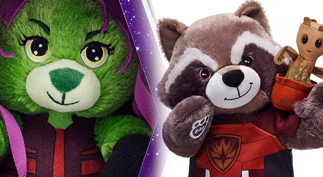 Guardians Of The Galaxy Vol. 2 Collection Unveiled By Build-A-Bear Workshop