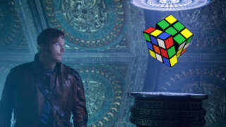 guardians of the galaxy vol 2 chris pratt star lord rubiks cube