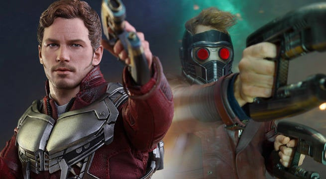 Guardians Of The Galaxy Vol. 2 Star-Lord Figure Unveiled By Hot Toys