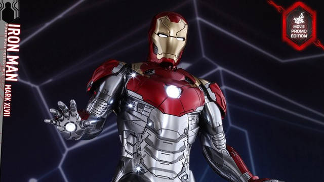 Spider-Man: Homecoming Iron Man Mark XLVII Hot Toys Figure Revealed