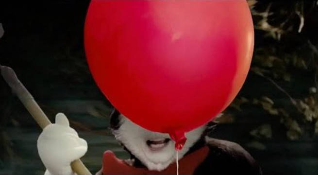 The IT Trailer Remade With Cat In The Hat Is Somehow More Terrifying