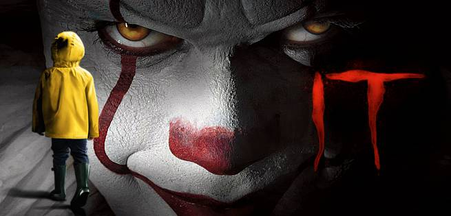 New IT Behind-The-Scenes Images Of Pennywise And Bowers Gang