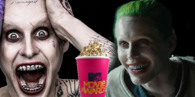 jared leto joker mtv movie award best villain