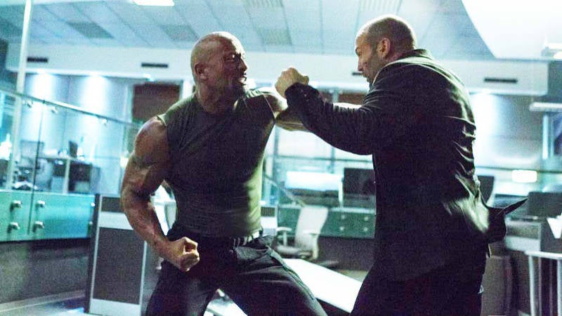 Dwayne Johnson and Jason Statham's Fate of the Furious Deleted Scene Explained