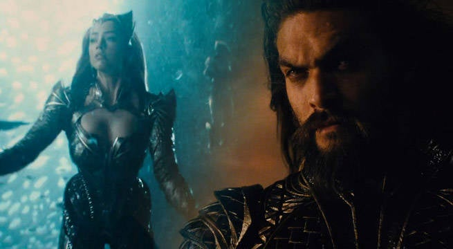 Aquaman's Amber Heard Shares 'Man-Crush' On Jason Momoa
