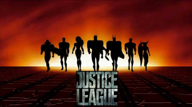 Justice League Movie Trailer with Cartoon Theme Music