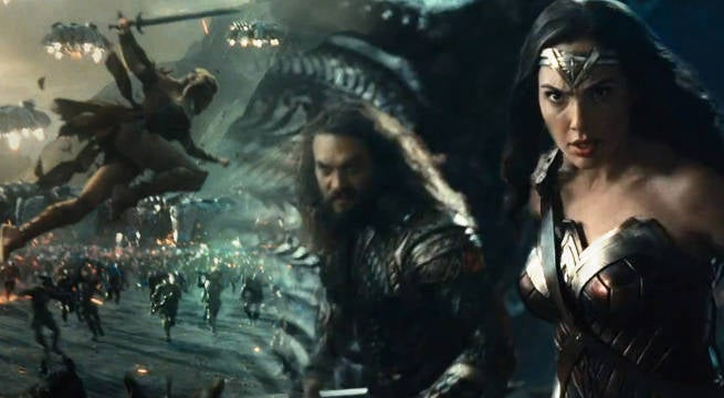 Chinese Wonder Woman Trailer and Poster Debut