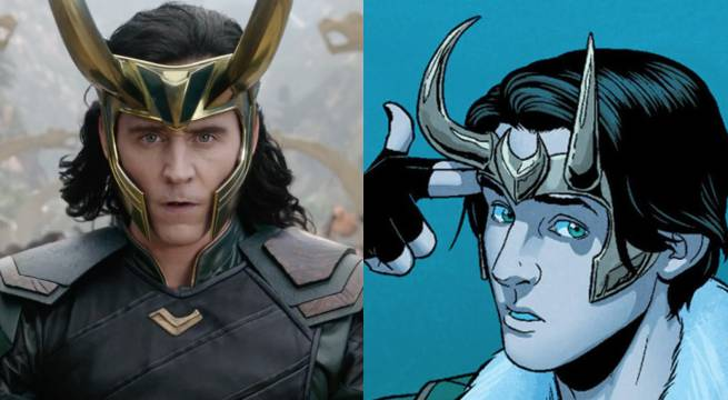 Thor: Ragnarok: Loki's New Headpiece Comes Straight From The Comics