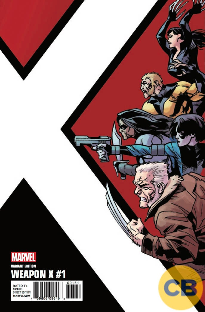 exclusive a deadly team forms in weapon x 1 marvel preview. Black Bedroom Furniture Sets. Home Design Ideas