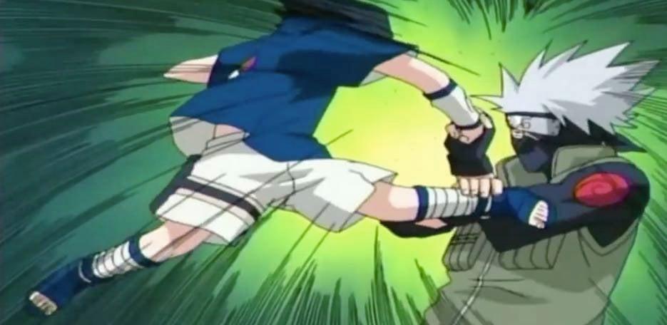 boruto naruto next generations pays homage to sasuke kakashi fight