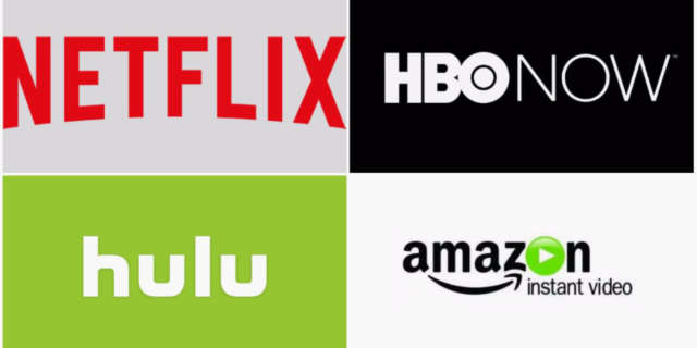 Netflix Hulu Amazon HBO on Demand