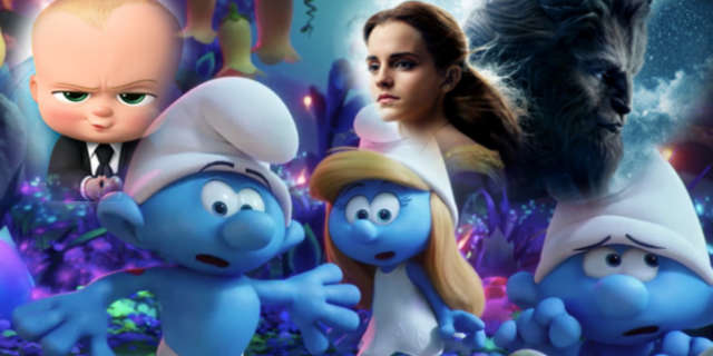 New Movies April 7 2017 Smurfs Boss Baby Beauty Beast