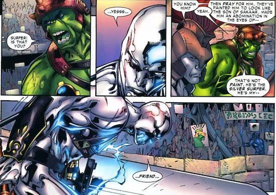 planet hulk silver surfer