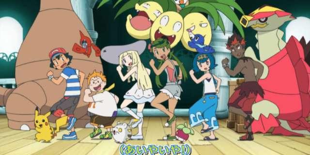 pokemon anime sunmoon