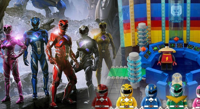 Mighty Morphin Power Rangers LEGO Set Hits 10,000 Supporters