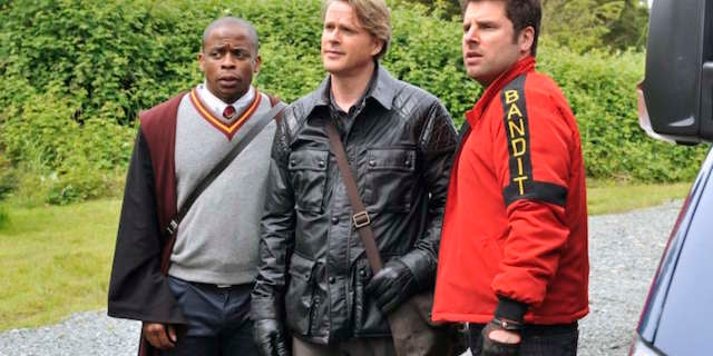 Come on, son! Psych TV movie begins filming in May!