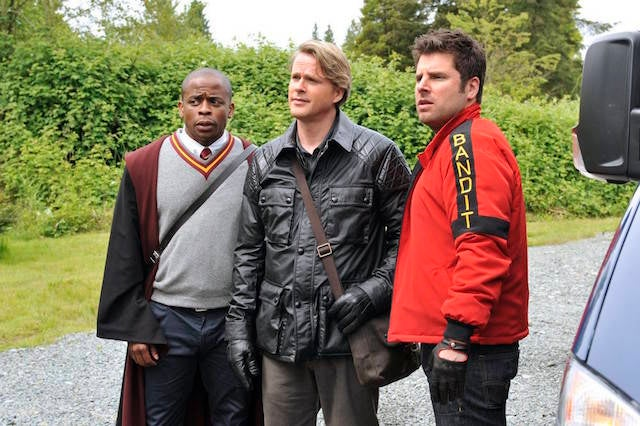 Psych: The Movie Wraps Principal Photography