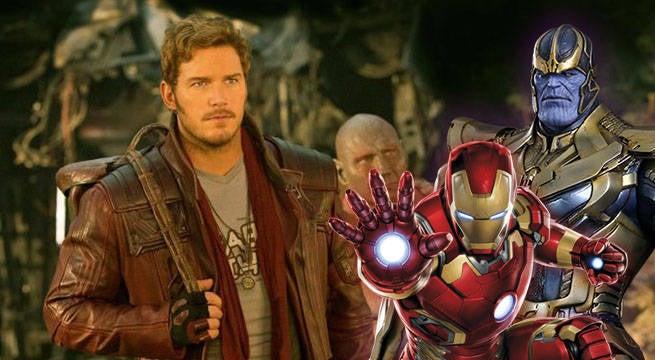Quill Thanos Iron Man