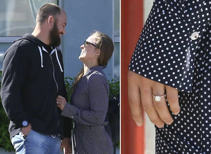Rousey Engagement