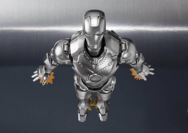 SH Figuarts Spotlights Iron Man Mark 2 Hall Of Armor Figure