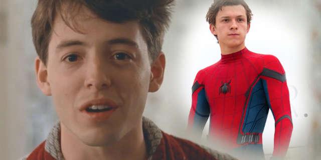 Spider-Man Homecoming Ferris Bueller Easter Egg Scene