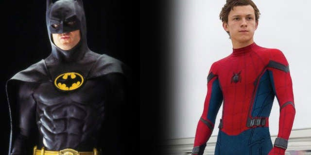 spider man homecoming michael keaton batman