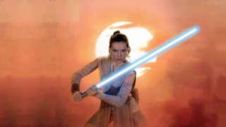 Star Wars 8 Daisy Ridley Rey Gray Jedi