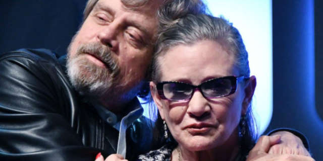 Mark Hamill Posts Touching Thanksgiving Tribute to Carrie Fisher