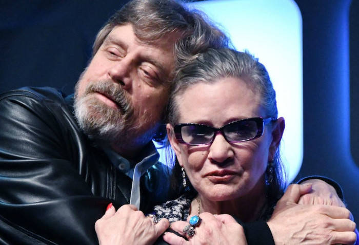 star wars celebration mark-hamil-carrie-fisher