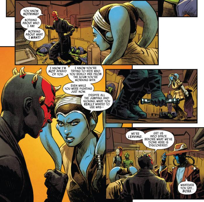 star wars darth maul 3 new jedi padawan marvel comics 1