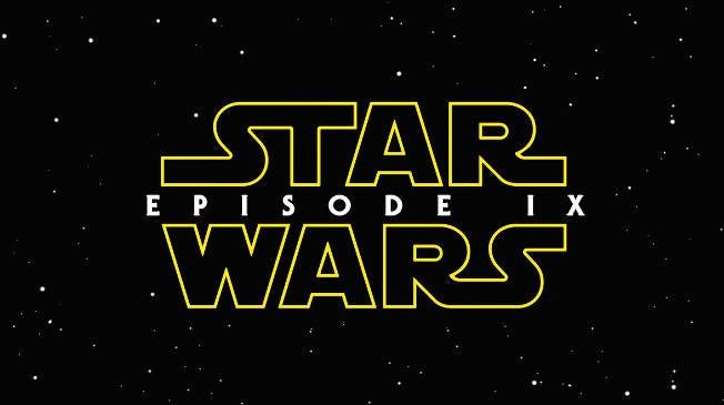 Star Wars Episode 9 IX Title Logo