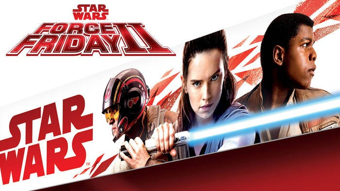 star wars force friday 2 september 1 2017