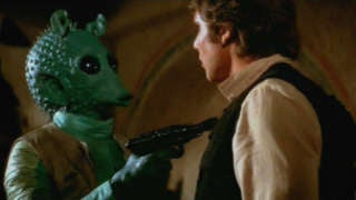 star wars han solo greedo