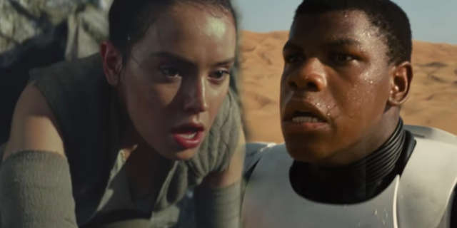 Star Wars Last Jedi Force Awakens Teaser Trailer Connections