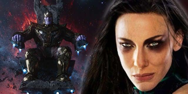 Thanos Hela Death