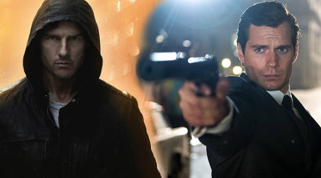 Tom Cruise Poses With Superman for Mission: Impossible 6 Photo