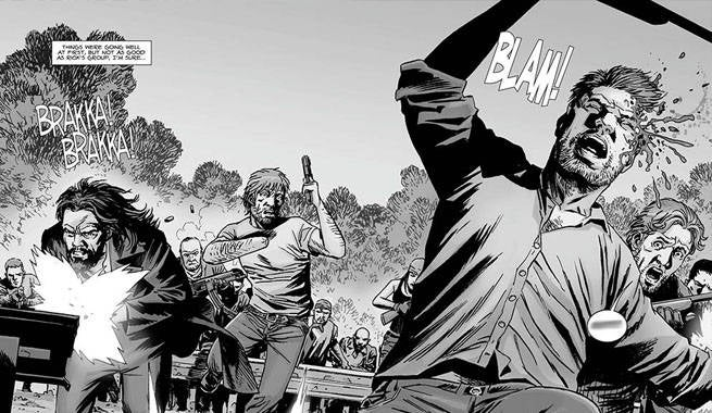 issue 118 of the walking dead comics sees one of the more major deaths of the arc