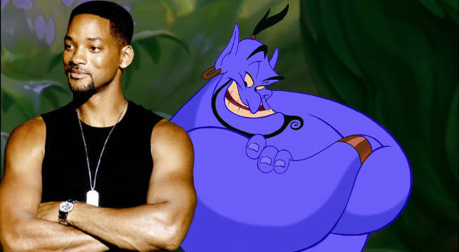 Will Smith In Talks To Play The Genie In Disney's Live-Action Aladdin