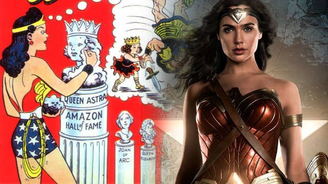 Classic Wonder Woman Easter Egg Spotted In Justice League Trailer