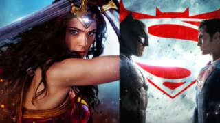 wonder woman marketing batman v superman suicide squad