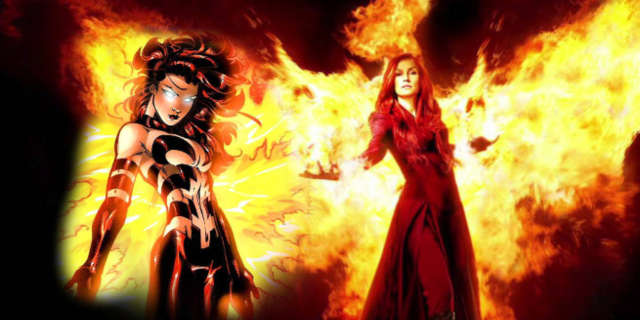 X-Men Movies Comics Dark Phoenix