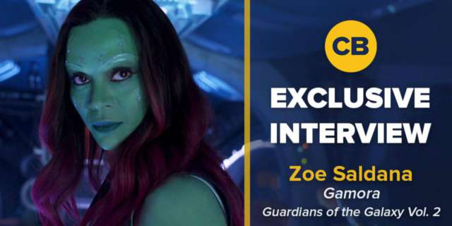 Zoe Saldana Talks Guardians of the Galaxy Vol. 2 screen capture