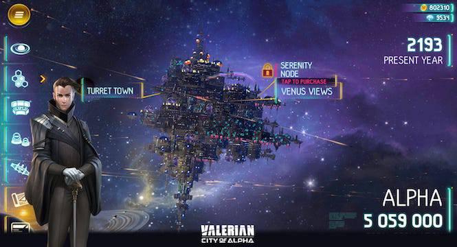 Alien Habitat of Alpha