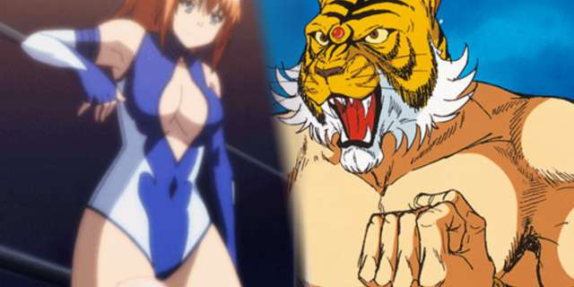 anime wrestling