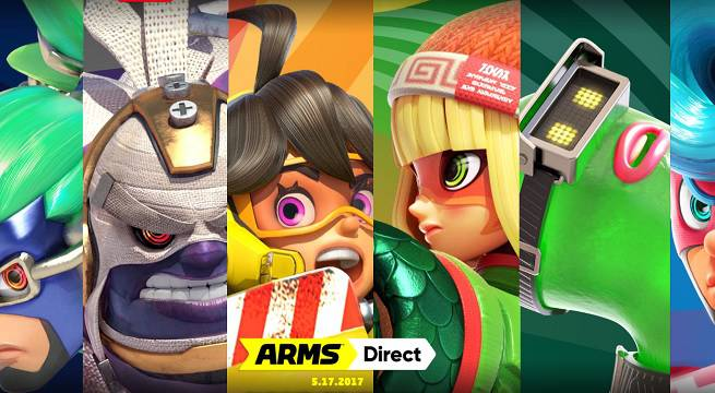 There's a Nintendo Direct for ARMS Tomorrow Night