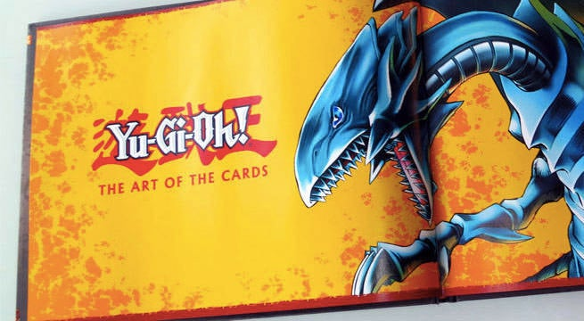 udon releasing new yu gi oh art of cards book