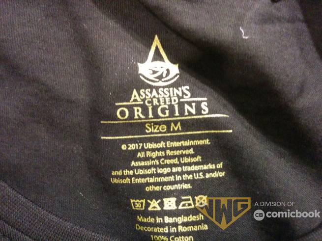Shirt Reveals Assassin's Creed Origins Protagonist Bayek