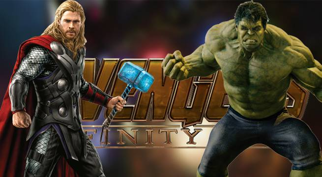 avengers thor hulk