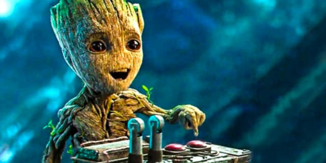 Baby Groot Buttom