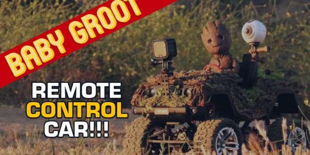 Baby Groot Car V2